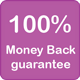 100% Money back guarantee