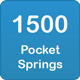 1500 pocket springs