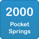 2000 pocket springs