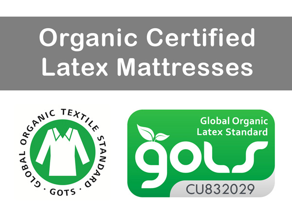 Organic Certified Latex Mattresses
