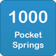 1000 pocket springs