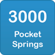 3000 pocket springs